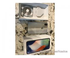 Apple iPhone X - 64GB - Prata (AT & T) A1901 (GSM) Novo