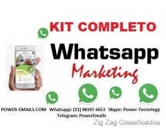 Kit Completo Whatsapp Marketing Envios Em Massa 2018