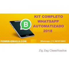 Kit Completo Whatsapp Marketing  Automatizado 2018