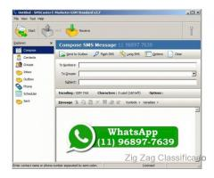 Sms Caster 3.7 + Licença Sms Marketing
