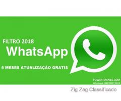 Filtro Whatsapp Marketing 2018